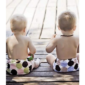 Green Kids Minkytimes OSFM Nappies - Little Greenie