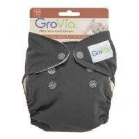 Grovia Newborn AIO Cloth Nappy - Little Greenie