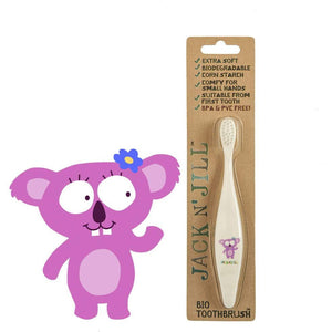 Jack N' Jill Bio Kids Toothbrush - Koala - Little Greenie