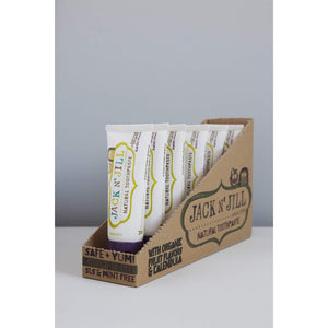 Jack N' Jill Natural Kids Toothpaste - 50g Blackcurrant - Little Greenie