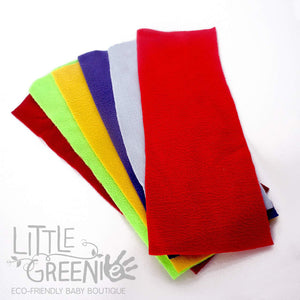 Microfleece Nappy Liners - pack of 6 (30 x 11 cm) - Little Greenie