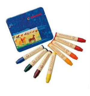 Stockmar beeswax crayons stick waldorf mix