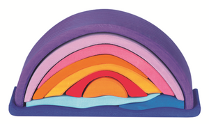 Sunset rainbow arch stacker Gluckskafer - Little Greenie