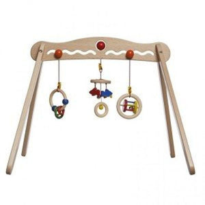 Gluckskafer baby gym with toys