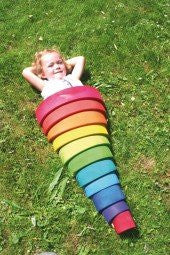 Grimm's Toy Rainbow Large - Little Greenie