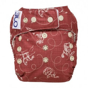 Grovia O.N.E Modern Cloth Nappy - Tex - Little Greenie