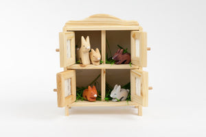 Atelier Des Peupliers Rabbit Set and Hutch