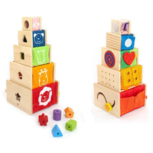 I'm Toy Stacking Activity boxes