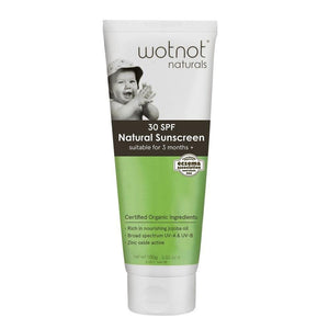 Wotnot baby sunscreen 100g - Little Greenie