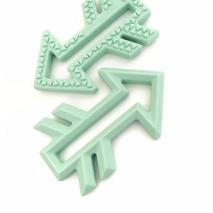 Arrow Silicone Teether - Little Greenie