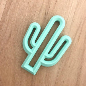 Cactus Silicone Teether - Little Greenie