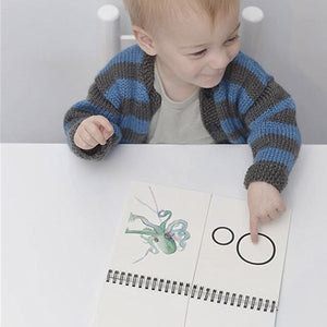Alphabet Flip Book - Little Greenie