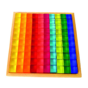Preorder 50pc acrylic cube Bauspeil new colourway