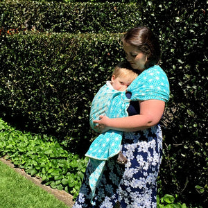 Chardan Slings Celestial Sky Ring Sling - Little Greenie