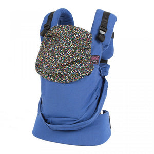 Emeibaby Carrier - Full Blue Dots - Little Greenie