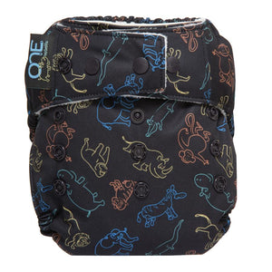 Grovia O.N.E Cloth Nappy - Little Greenie