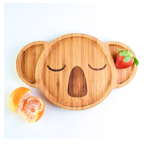 Karri the Koala Bamboo Plate - Little Greenie
