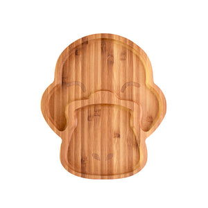 Bamboo Children's Plate - Puddles the Platypus - Little Greenie