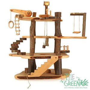 Magic wood buildable treehouse - Little Greenie