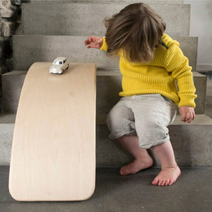 Wobbel Balance Board: PRO ECO FELT - Little Greenie