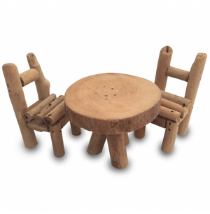 Papoose woodland chairs and table - Little Greenie