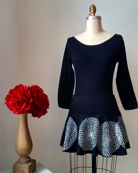 Mini skirt/zinnia