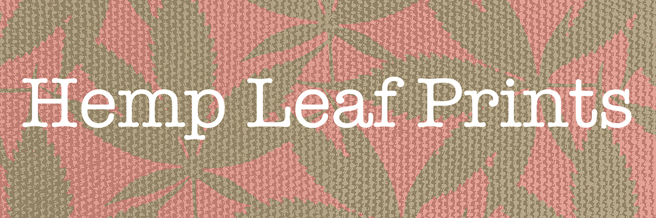 Hemp Leaf Prints