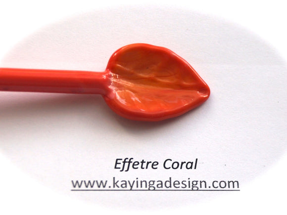 Coral Special Effetre Glass Rods