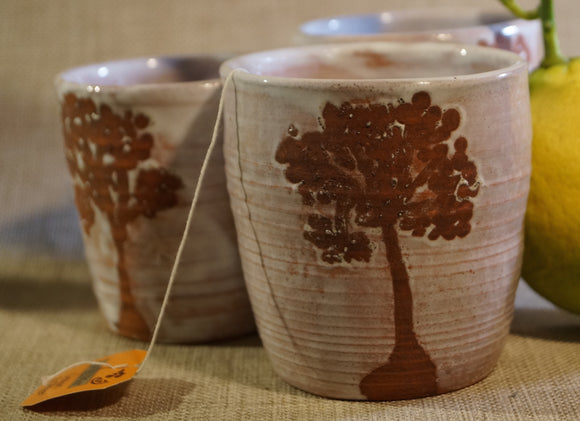 Tall Tree Tumblers - rustic terracotta