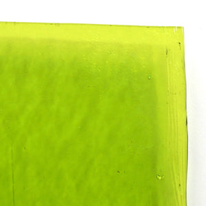 Green Grass Medium Transparent Sheet Glass Effetre 104 CoE