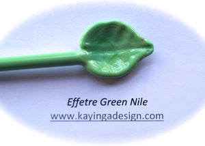 Green Nile Opaque/Pastel Effetre Glass Rods