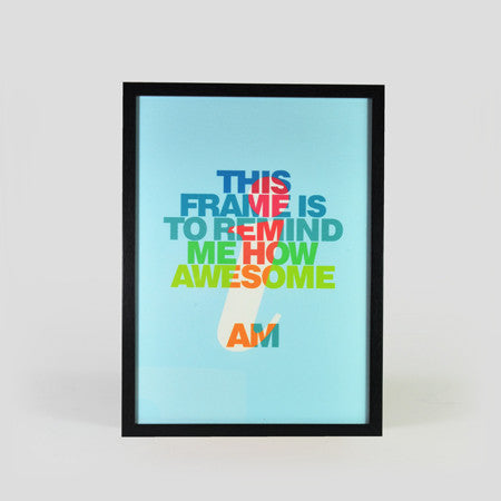 AWESOME I AM - SPARROW DESIGN FIRM