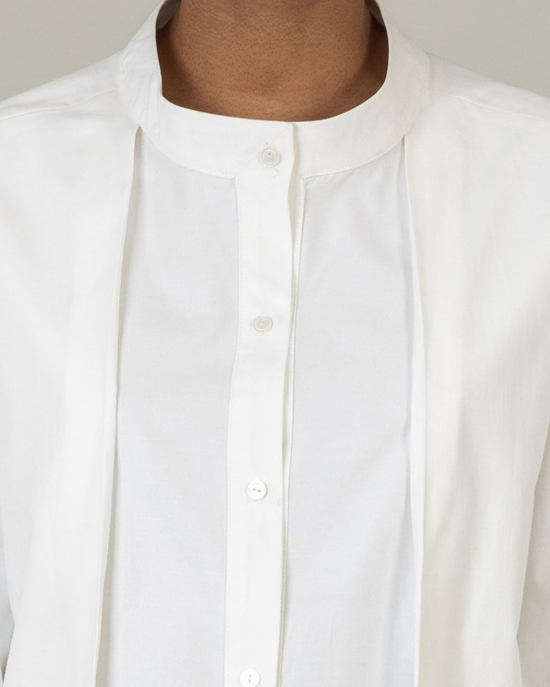 Over Layer Pleat Shirt - S13W