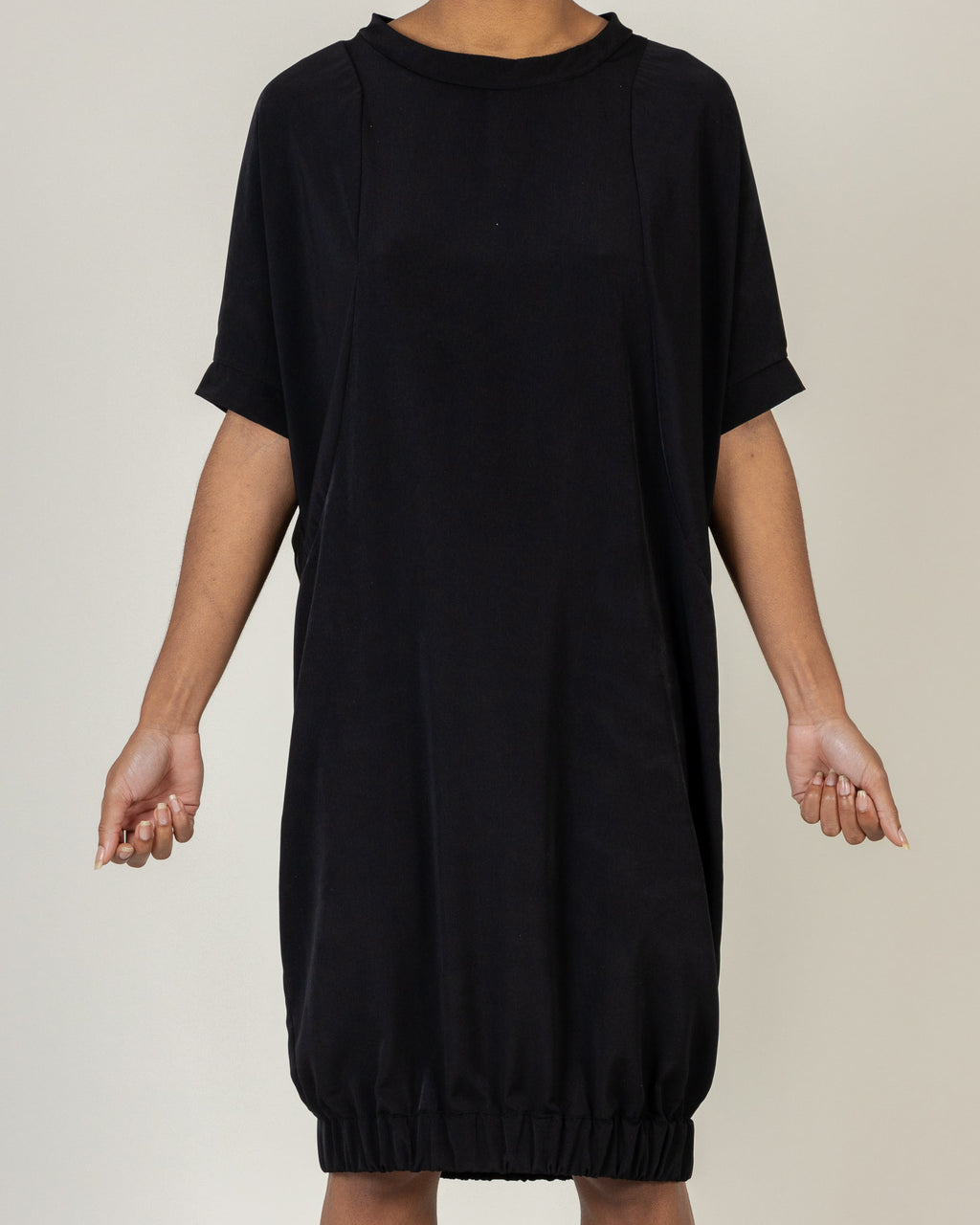 Elasticated Hem Dress - B3U