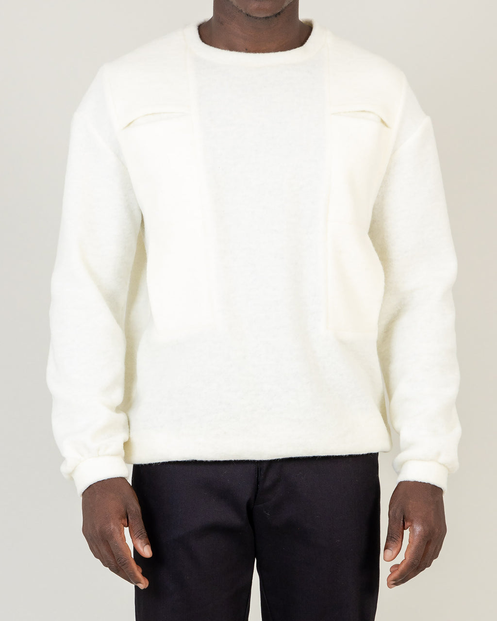 Shoulder Pocket Jumper - B1M - MAE MAZE