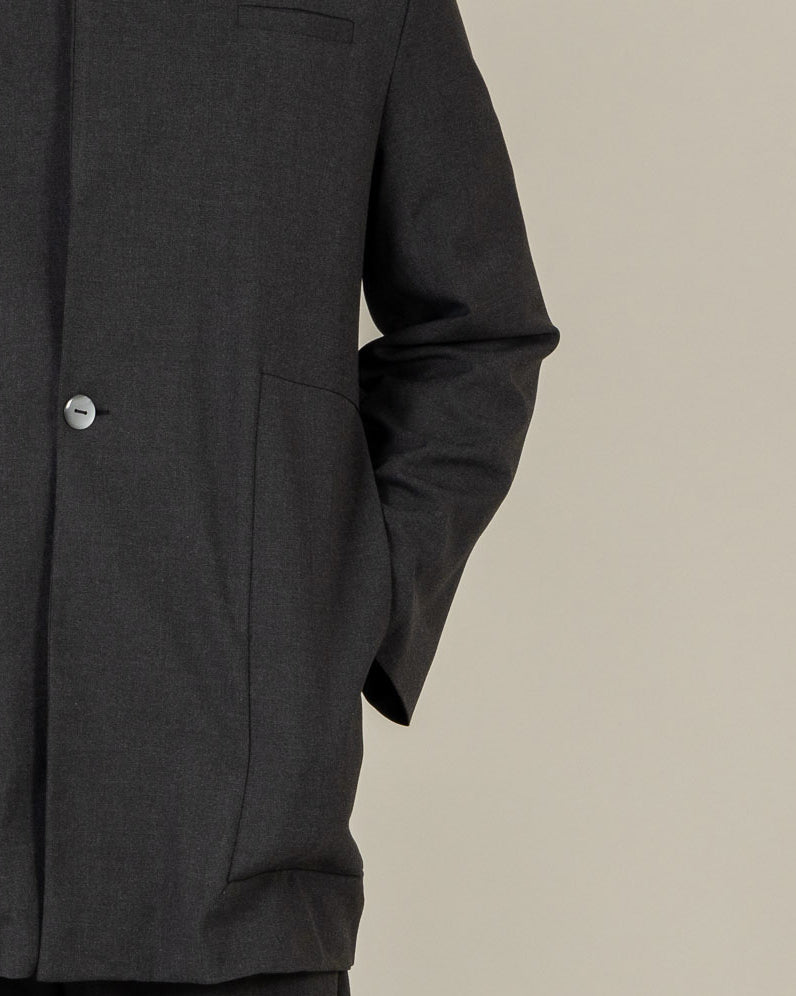 High Neck Tailor Jacket - C9M - MAE MAZE