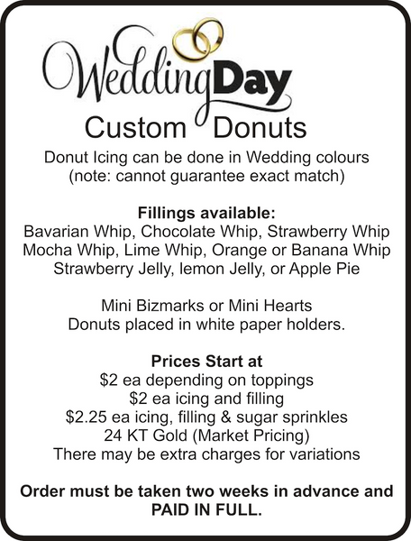 #wedding #donuts #dolicious