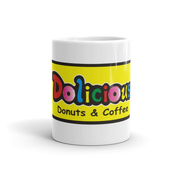 Dolicious Donuts and Coffee Mug - Dolicious Donuts and Coffee - 4