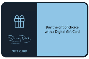 Electronic/Digital Gift Cards - SkinnyDaz Art, Design & Illustration