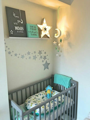 Tips to creating a gorgeous grey nursery