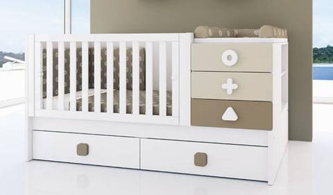 5in1 Convertible Cot Basic Classi Designs
