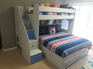 L shaped combination bunk - Classic Designs