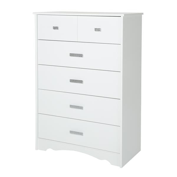 Valerie 5 Drawer Tall Boy Chest