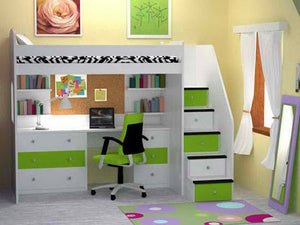 Loft Bunk Bed 2 - Classic Designs