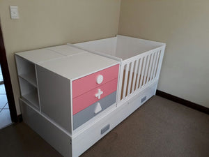 5in1 convertible cot (Basic) - Classic Designs