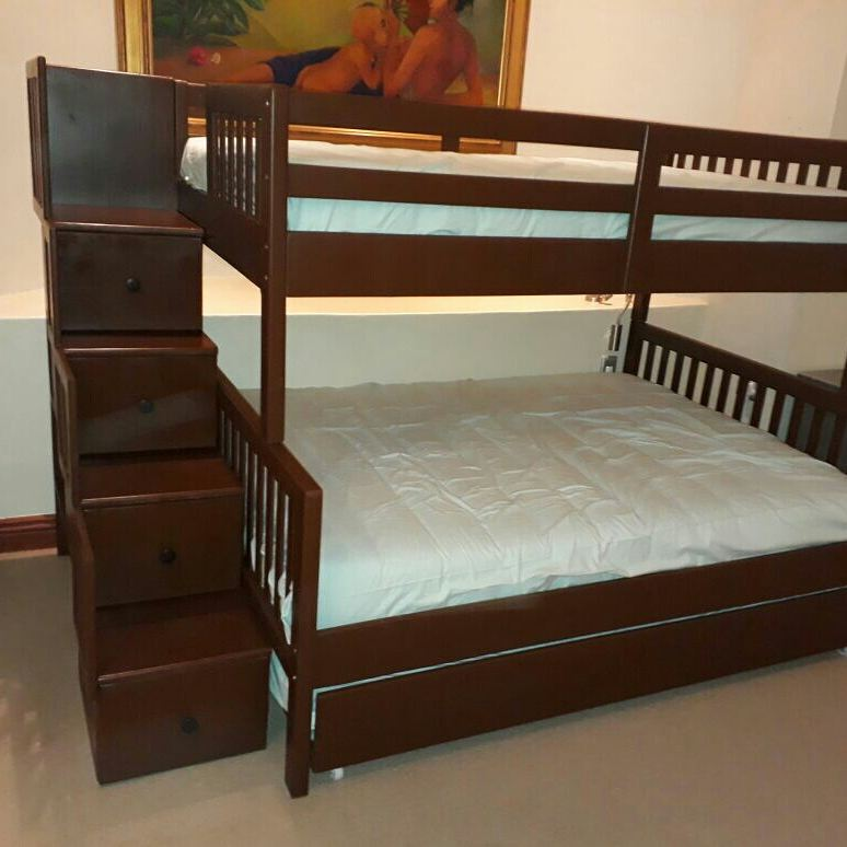 Other Furniture Morgan Pine Bunk Bed Single Over Double For Sale