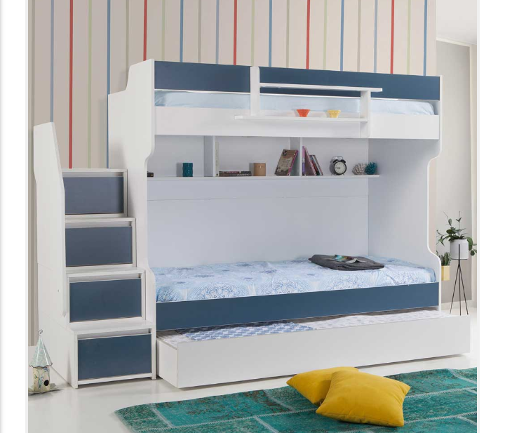 Tower Triple Bunk Bed Classi Designs
