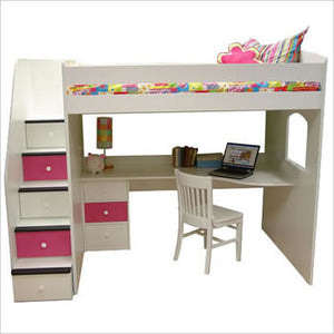 Loft Bunk Bed - Classic Designs