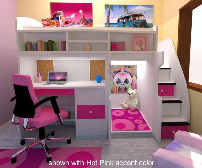 Play and Study Bunk Bed