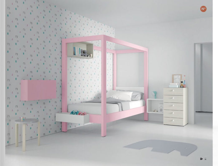Uptown Canopy bed